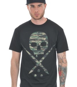 Sullen-Black-Tiger-Camo-Badge-T-Shirt-e3526-XL